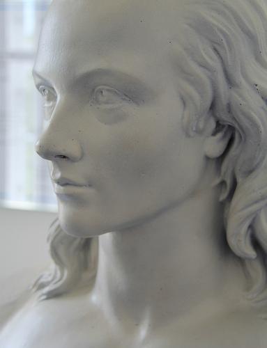 Novalis bust by Fritz Schaper
