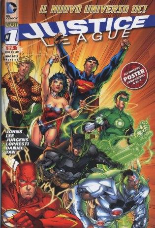 Justice League (foto copertina)