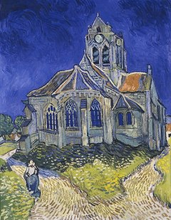 520px-Vincent_van_Gogh_-_The_Church_in_Auvers-sur-Oise,_View_from_the_Chevet_-_Google_Art_Project.jpg