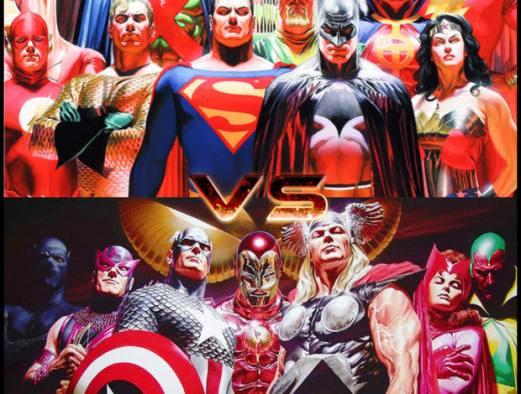Marvel e Dc quando la fantasia ha un limite (foto copertina)