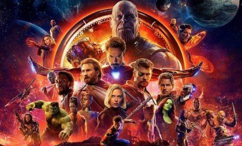 Avengers Infinity War (Foto copertina)