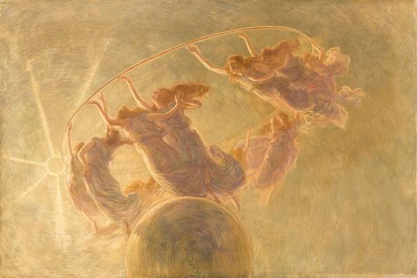 Gaetano-Previati-La-danza-delle-Ore