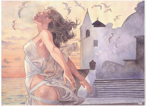 Milo Manara il maestro dell'Eros (foto copertina)