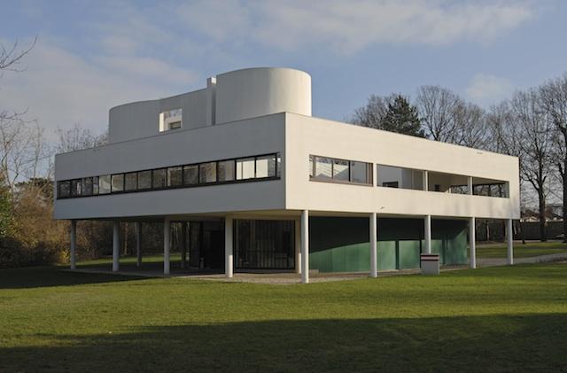 Interni Di Villa Savoye : Fastudio villa savoye la casa manifesto di le corbusier