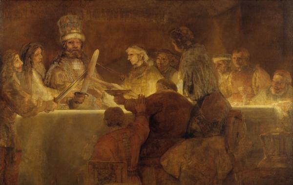 Rembrandt - Congiura di Claudio Civile (foto)