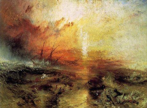 Wiliam Turner- La nave negriera (foto)