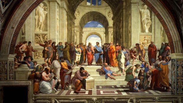 Scuola di Atene (copertina)