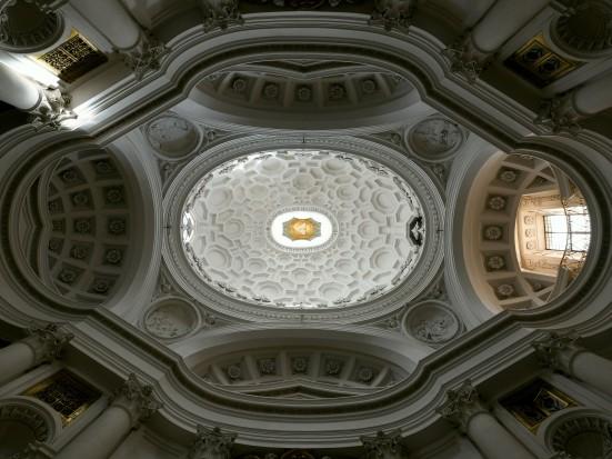 San Carlo alle quattro fontane – Un gioiello nel cuore di Roma (foto cupola).jpg