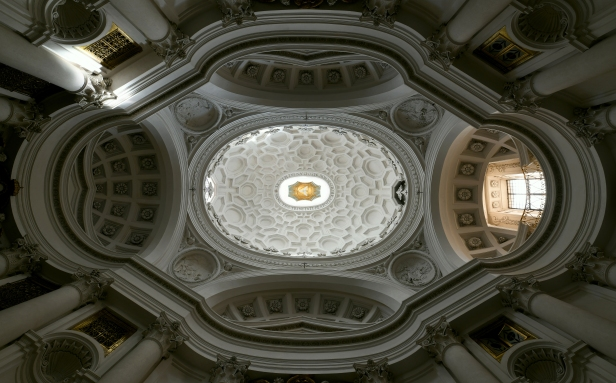 San Carlo alle quattro fontane – Un gioiello nel cuore di Roma (foto cupola)
