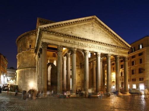Il Pantheon – La dimora di tutti gli dei (copertina)