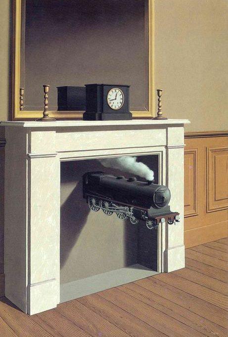 Opera di Magritte. Articolo di Chiara Pirani